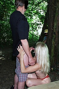 Coco free prostitute in the woods
