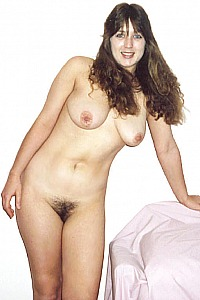 Crystal just posing nude