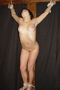Crucification part 2 - a sex godess