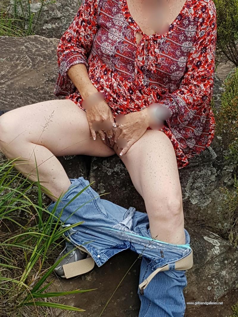 My MILF Wife Outdoors