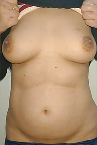 Indian wife's juicy tits revealed