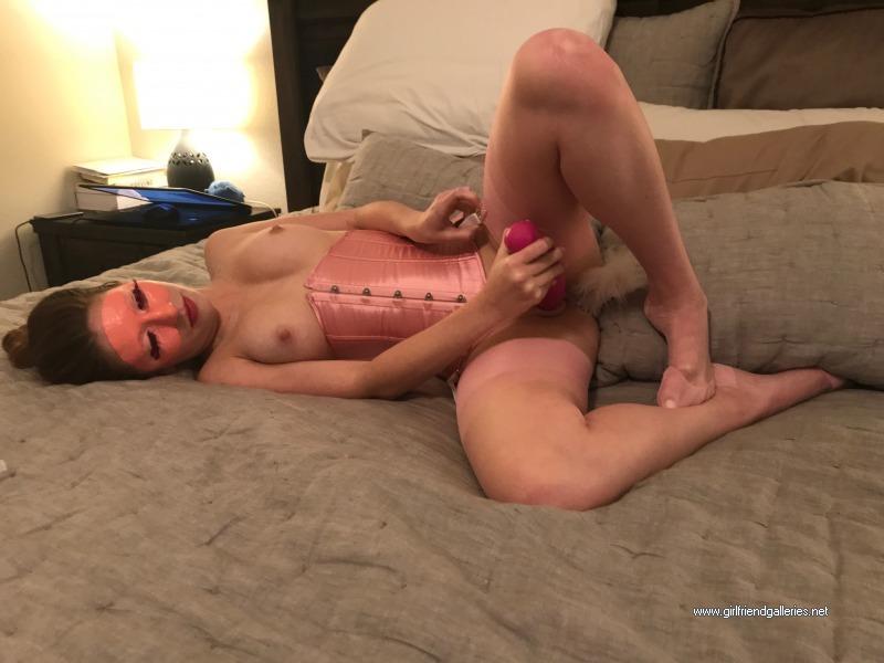 Fabulous Nicole in pink
