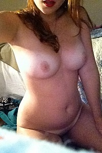 Big titted Daisy spreads wide