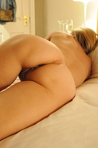 the wifes lovely bum