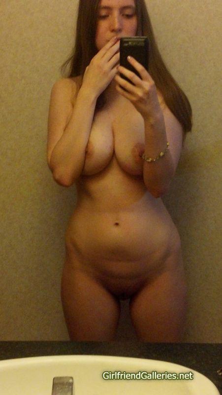 My naked girlfriend