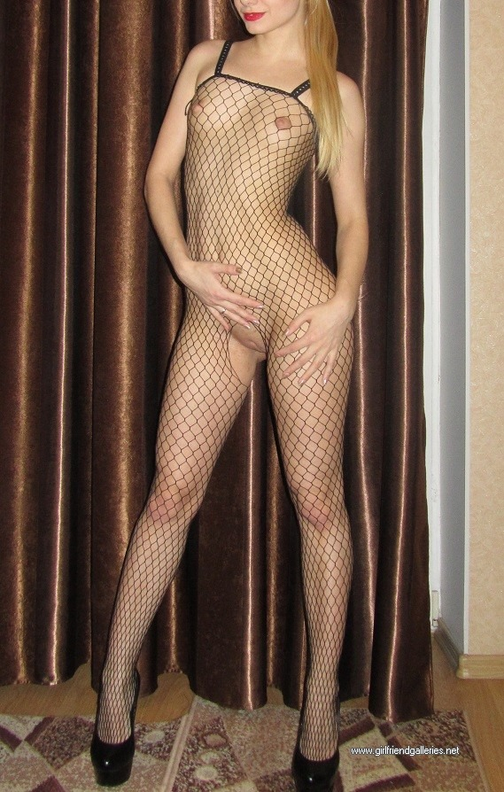 my wifes ass and pussy in fishnet lingerie