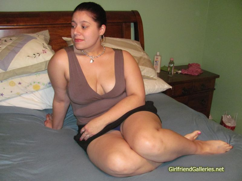Slutty Latina Playing With A Toy