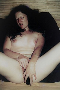 young hairy girl with Dildos