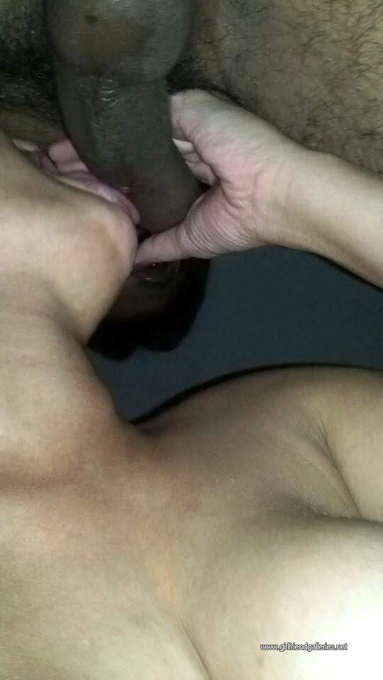 Giving horny blowjob to my man