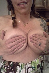 My big titted slut