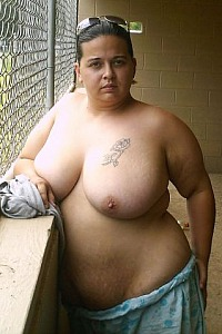 Bbw at the Baseball Park