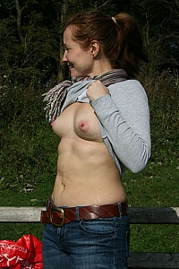 Would you cum on me in the woods?