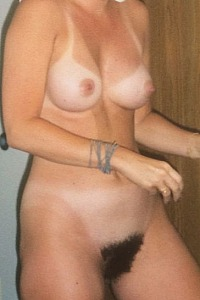 Hairy cameltoe wife