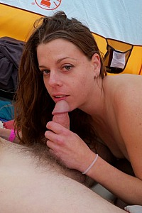 She luves to suck cock