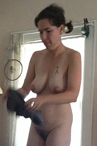 Beautiful Natural Nebraska Milf Julie does it all