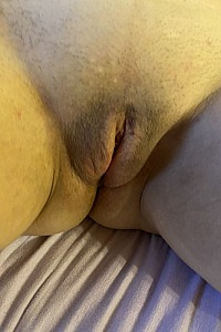 My wife with hers dildo