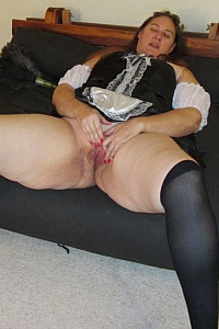 My new slutty french maid outfit