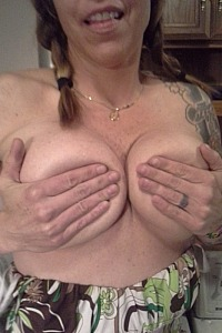 She loves showing off her tits
