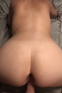 Wifes sexy ass bent over