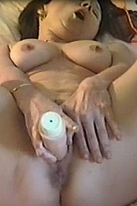 Little Milf Plays with Big Toy