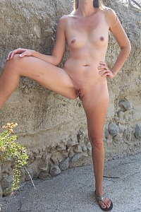 Milf outdoors 2