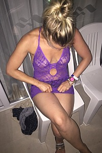 Wife after her night out