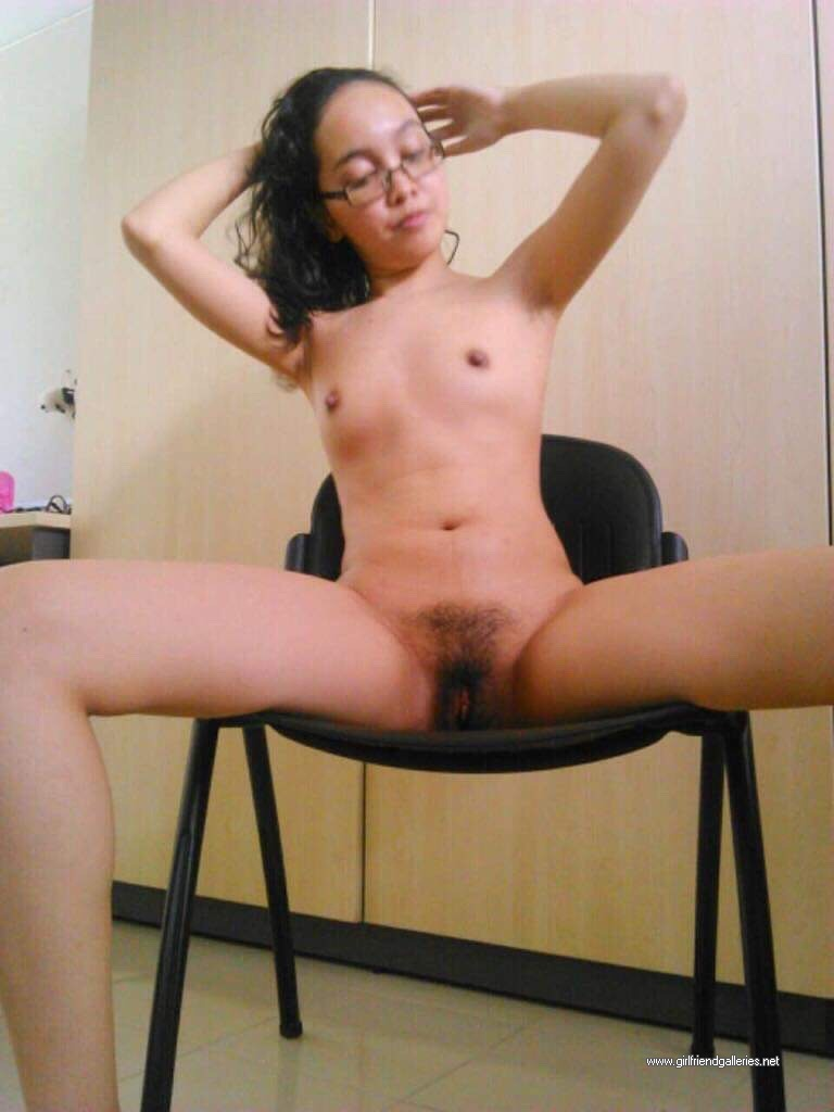 Sexy Posed On Chair
